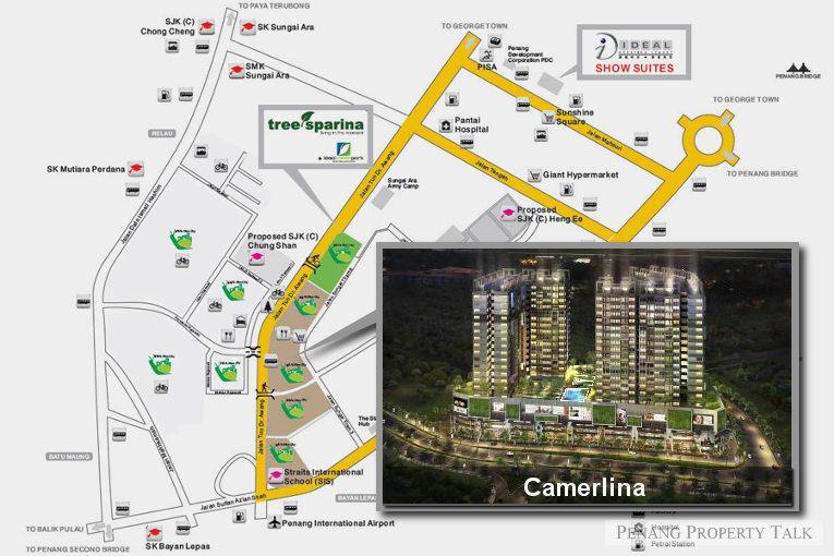 camerlina-map