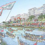 dragon-boat-racing-along-the-new-proposed-canal-at-seri-tanjung-pinang-phase-2