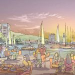 enjoying-the-sunset-at-harbourside-on-seri-tanjung-pinang-phase-2